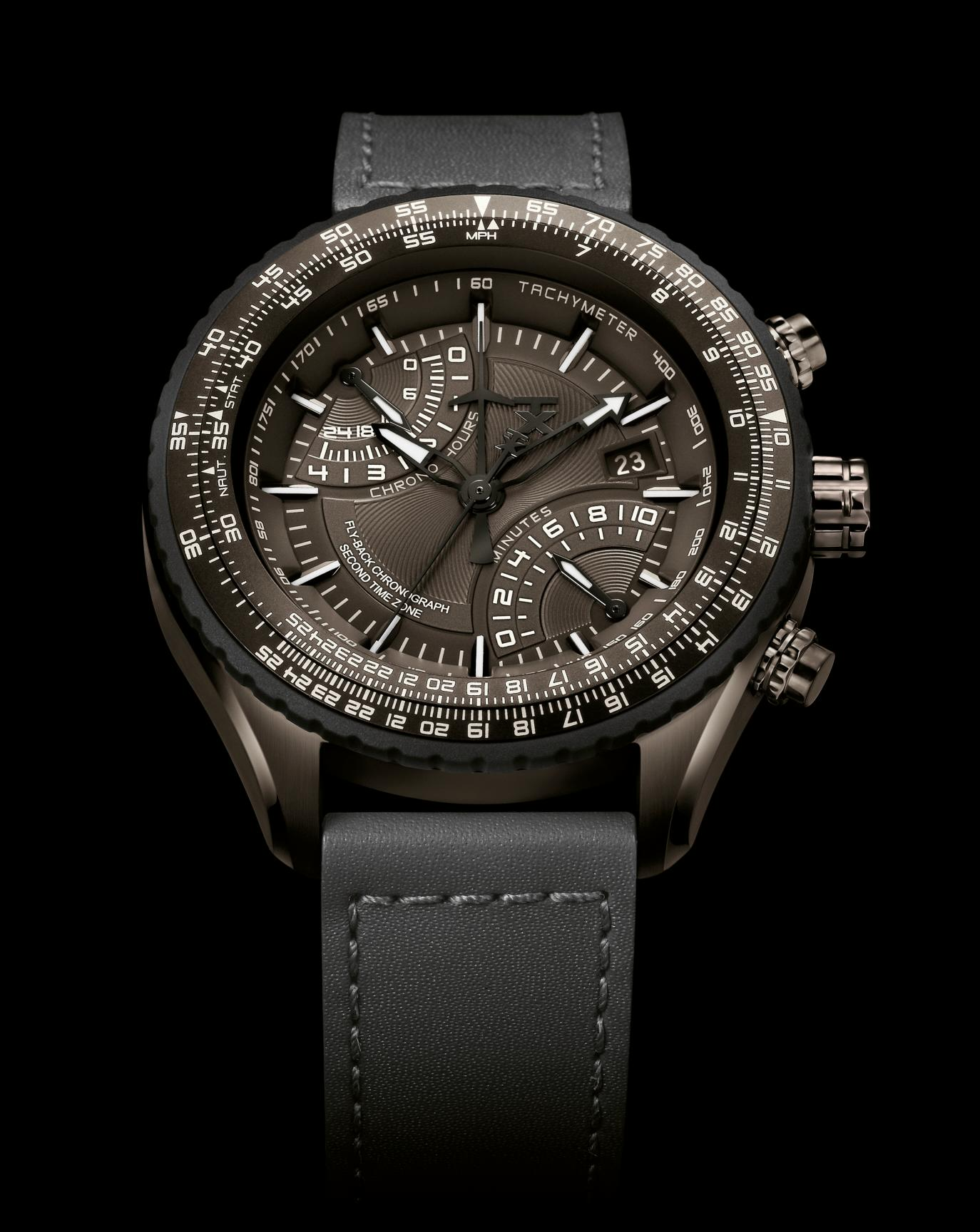 TX 610 Pilot Fly-back Chronograph