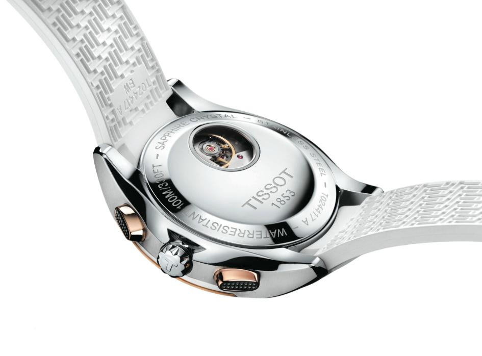 Tissot Veloci-T Lady Automatic Chronograph
